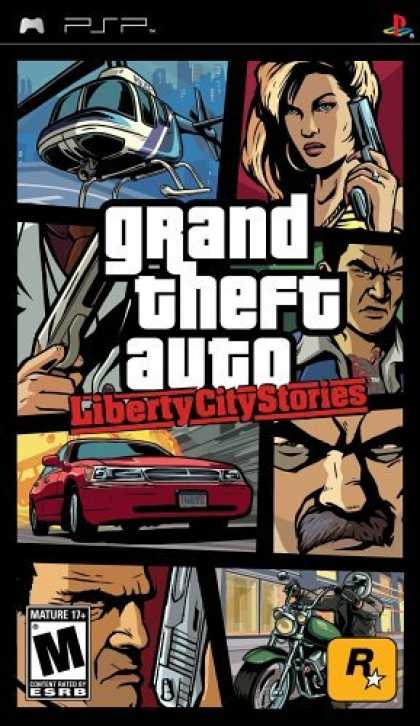Bestselling Games (2006) - Grand Theft Auto Liberty City Stories
