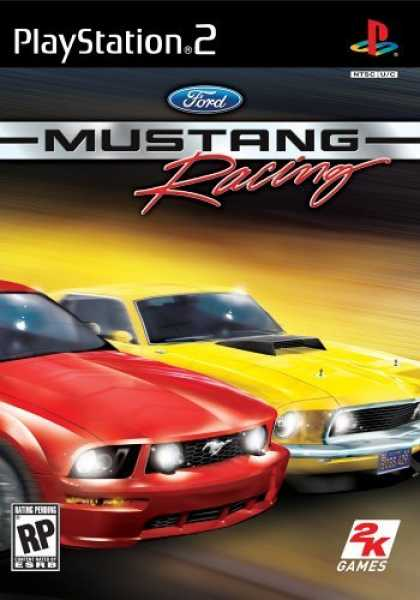 Bestselling Games (2006) - Ford Mustang: 40th ANniversary Edition for PlayStation 2