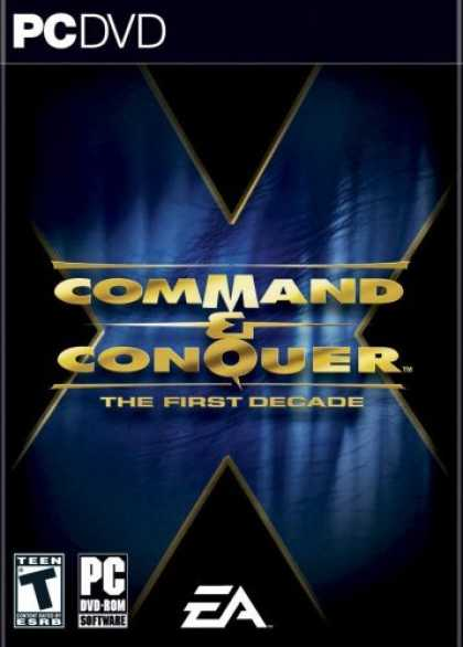 Bestselling Games (2006) - Command and Conquer the First Decade (DVD-Rom)