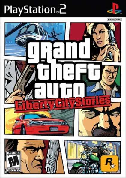 Bestselling Games (2006) - Grand Theft Auto: Liberty City Stories