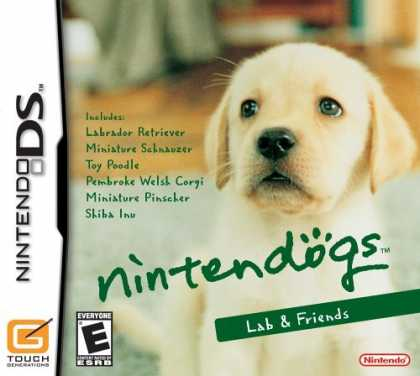 Bestselling Games (2006) - Nintendogs Labrador Retriever & Friends - James Taylor At Christmas by James Tay