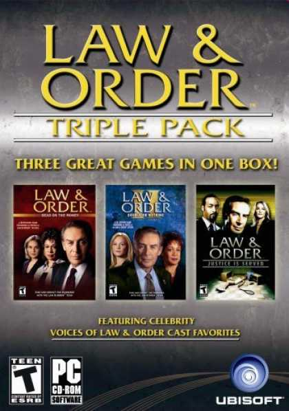 Bestselling Games (2006) - Law and Order Triple Pack