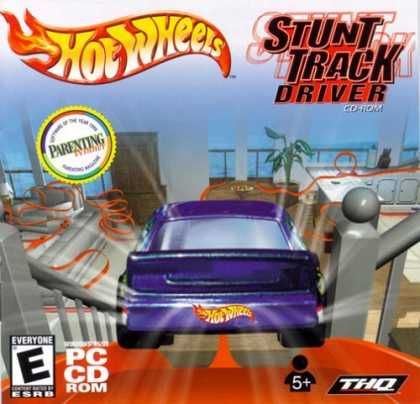 Bestselling Games (2006) - Hot Wheels Stunt Track Driver (Jewel Case)