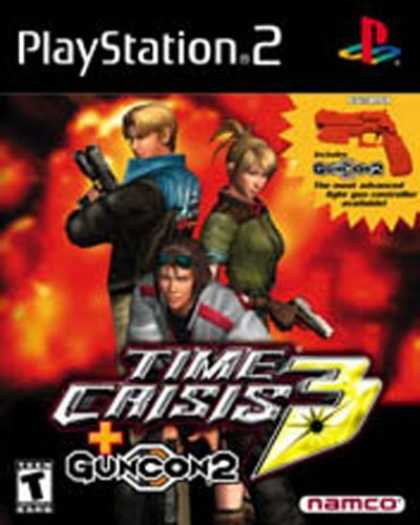 Bestselling Games (2006) - Time Crisis 3 with GUNCON 2 Shooting Action for PS2