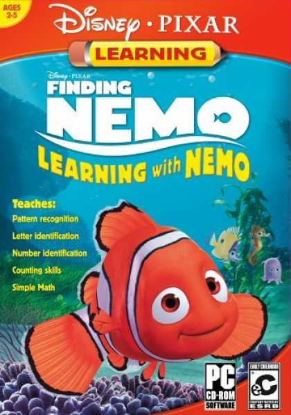 Bestselling Games (2006) - Disney/Pixar's Finding Nemo: Learning with Nemo