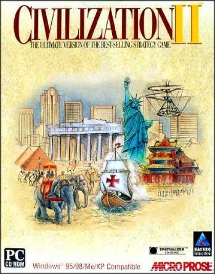 Bestselling Games (2006) - Civilization II (XP Compatible Version)