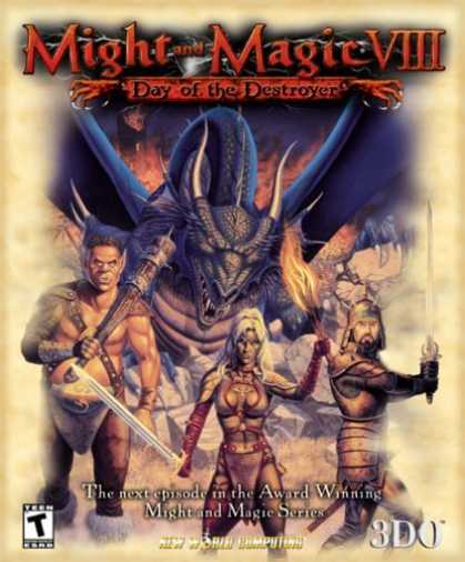 Bestselling Games (2006) - Might and Magic 8: Day of the Destroyer