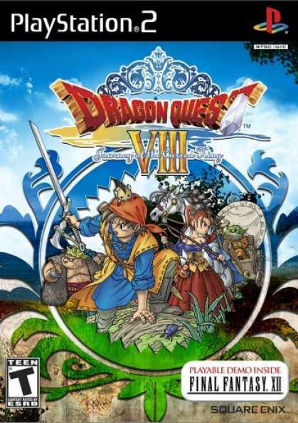 Bestselling Games (2006) - Dragon Quest VIII Journey of the Cursed King