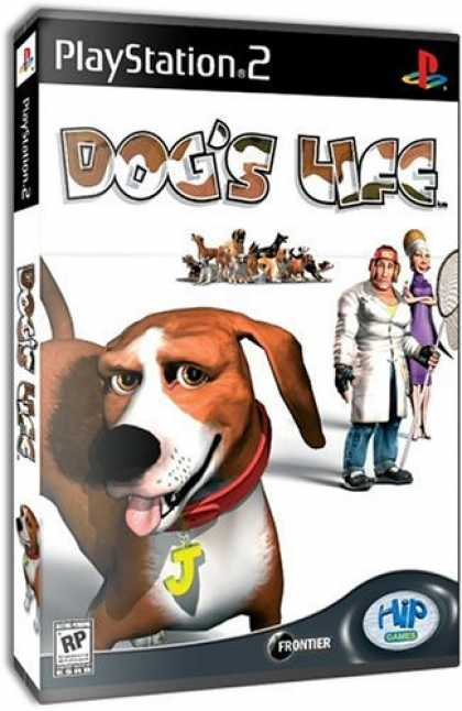 Bestselling Games (2006) - Dog's Life for PlayStation2