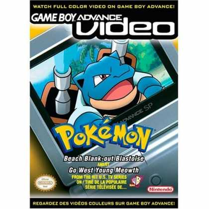 Bestselling Games (2006) - Pokemon Beach Blank-Out Blastoise and Go West Young Meowth