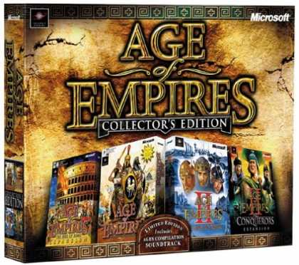 Bestselling Games (2006) - Age of Empires Collector's Edition