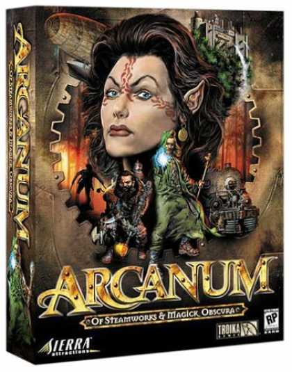 Bestselling Games (2006) - Arcanum: of Steamworks & Magick Obscura