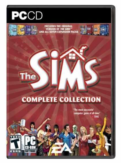 Bestselling Games (2006) - The Sims: Complete Collection