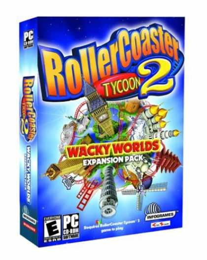 Bestselling Games (2006) - RollerCoaster Tycoon 2: Wacky Worlds Expansion Pack