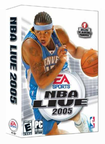 Bestselling Games (2006) - NBA Live 2005