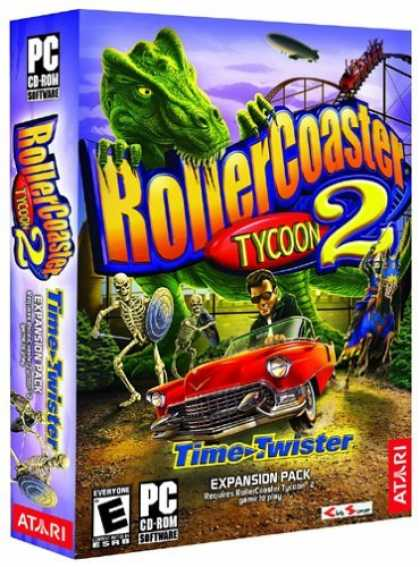 Bestselling Games (2006) - RollerCoaster Tycoon 2: Time Twister Expansion Pack