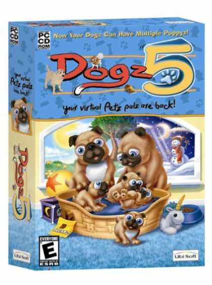 Bestselling Games (2006) - Dogz 5