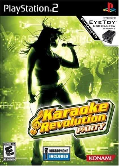 Bestselling Games (2006) - PS2 - Karaoke Revolution Party with Microphone