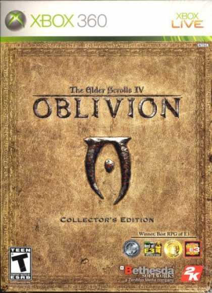 Bestselling Games (2006) - Elder Scrolls IV Oblivion Collectors Edition