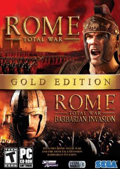 Bestselling Games (2006) - Rome Total War Gold Edition