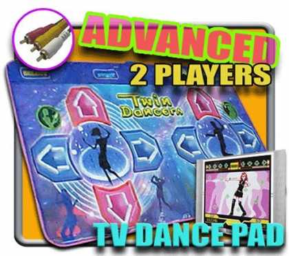 Bestselling Games (2006) - 2 Players Dance Dance Revolution Blue Twin DDR TV Pad