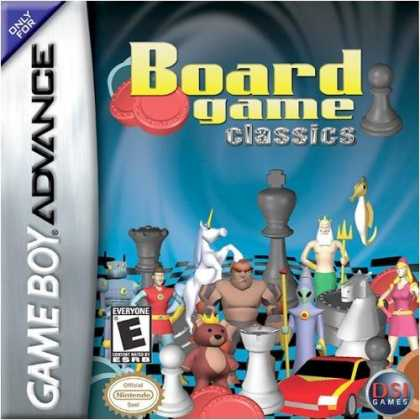 Bestselling Games (2006) - GBA CHESS / CHECKERS / BACKGAMMON