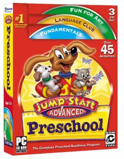 Bestselling Games (2006) - JUMPSTART ADVANCED PRESCHOOL