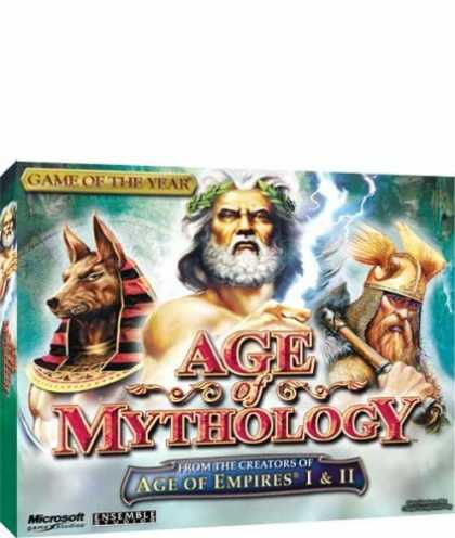 Bestselling Games (2006) - Age of Mythology (Jewel Case)