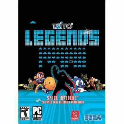 Bestselling Games (2006) - Taito Legends
