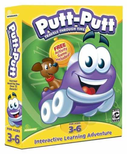 Bestselling Games (2006) - Putt-Putt Travels Through Time