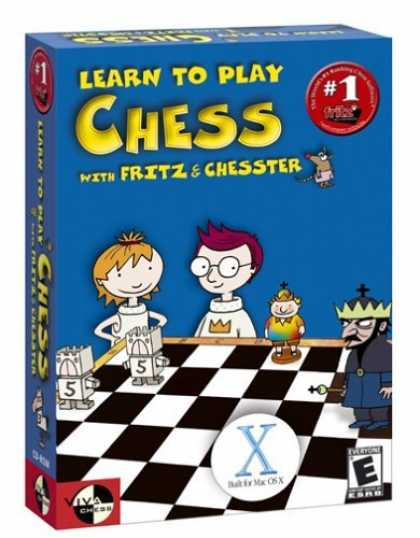 Bestselling Games (2006) - Learn to Play Chess with Fritz and Chesster (Mac)