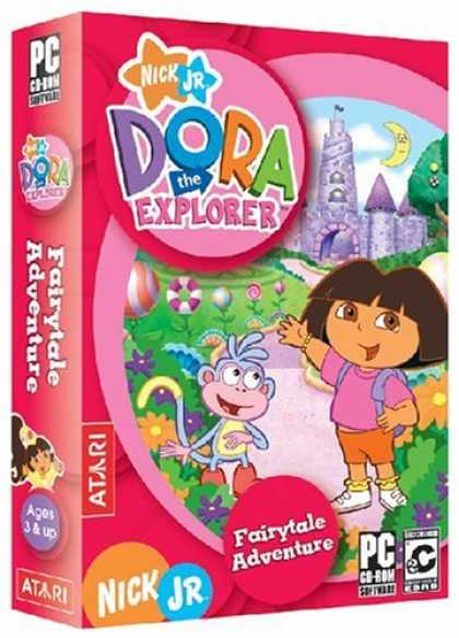 Bestselling Games (2006) - Dora the Explorer: Fairytale Adventures
