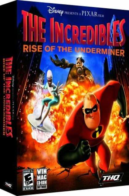 Bestselling Games (2006) - Incredibles: Rise of the Underminer (PC & Mac)