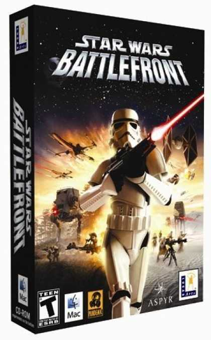 Bestselling Games (2006) - Star Wars Battlefront (Mac)