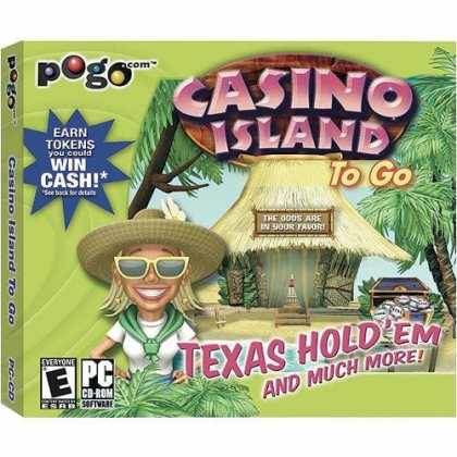 Bestselling Games (2006) - Casino Island To Go (POGO) (Jewel Case)