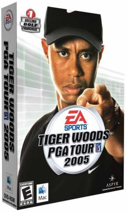 Bestselling Games (2006) - Tiger Woods 2005 (Mac)