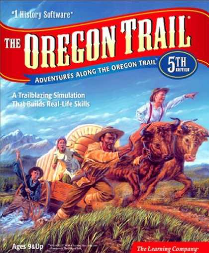 Bestselling Games (2006) - Oregon Trail 5th Edition Win/Mac [Old Version]