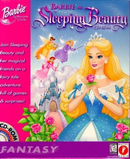 Bestselling Games (2006) - Barbie Sleeping Beauty (Jewel Case)