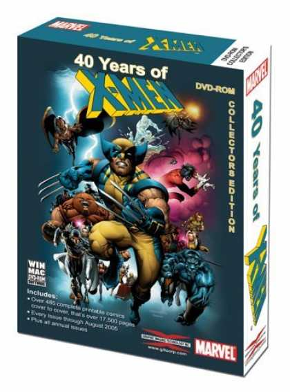 Bestselling Games (2006) - 40 Years of the X-Men Collector's Edition Win/Mac [DVD]