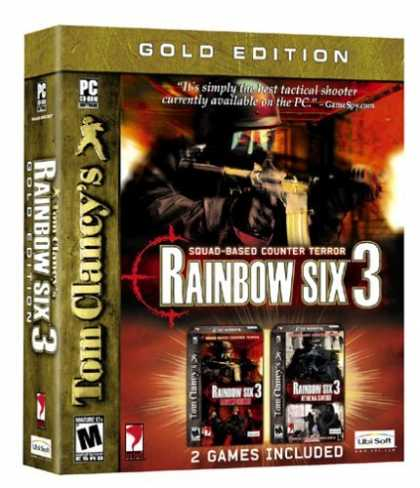 Bestselling Games (2006) - Tom Clancy's Rainbow Six 3 Gold Pack