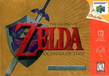 Bestselling Games (2006) - Legend of Zelda - Ocarina of Time (Collector's Edition) - Nintendo 64