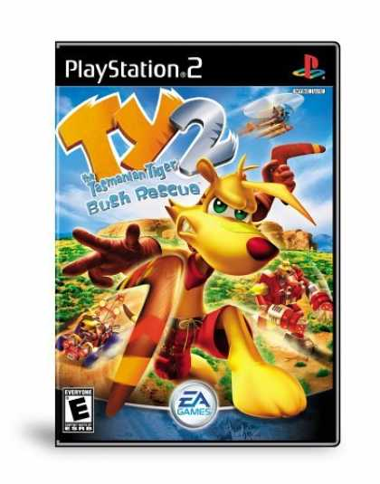 Bestselling Games (2006) - Ty the Tasmanian Tiger 2: Bush Rescue
