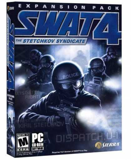 Bestselling Games (2006) - SWAT 4: The Stetchkov Syndicate Expansion Pack