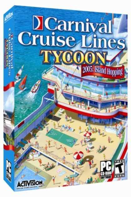 Bestselling Games (2006) - Carnival Cruise Line Tycoon 2005: Island Hopping