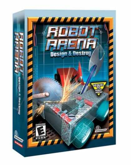 Bestselling Games (2006) - Robot Arena: Design and Destroy