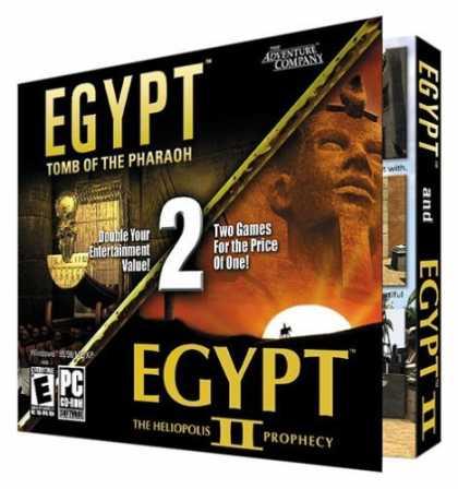 Bestselling Games (2006) - Egypt & Egypt 2 (Jewel Case)