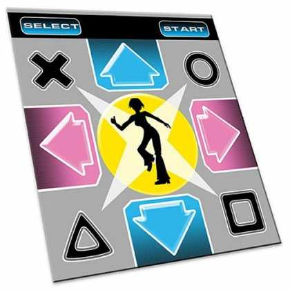 Bestselling Games (2006) - Sony Playstation 2 Foam Back Dance Mat