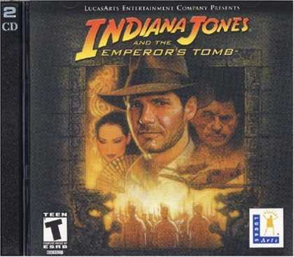 Bestselling Games (2006) - Indiana Jones and the Emperor's Tomb (Jewel Case)