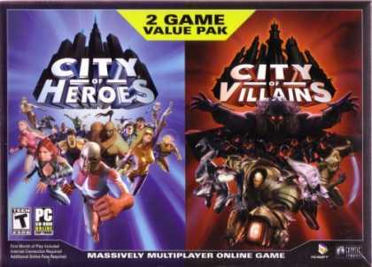 Bestselling Games (2006) - City Of Heroes/Villians Bundle