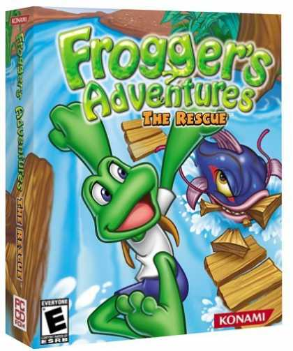 Bestselling Games (2006) - Frogger's Adventures: The Rescue